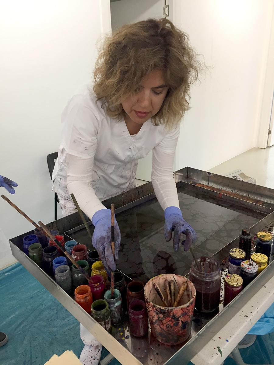 Ebru Uygun ile 'Sanatın İyileştirici Gücü' (Ebru Sanatı)