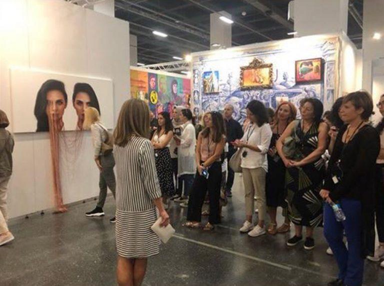 "Art Walk: ""Contemporary Istanbul 2019"" Art Fair Tour with Art Consultant Feride Çelik"