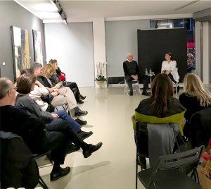 """Hakan Kılıççıoğlu ve Maryam Salahi ile """"Felsefi Bağlamda Resim Sanatında Kadın ve İrade Üzerine Söyleşi"""""""