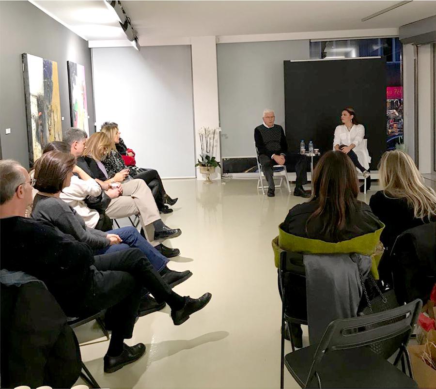 "Artist Talk: ""About Women and Will in Painting in Philosophical Context"" with Hakan Kılıççıoğlu and Maryam Salahi"