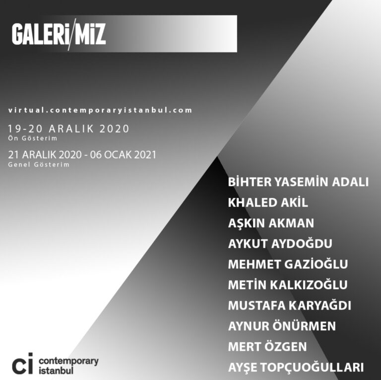 """Contemporary Istanbul 2020 """"Online Selection"""""""
